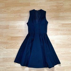 Beautiful black a-line formal dress
